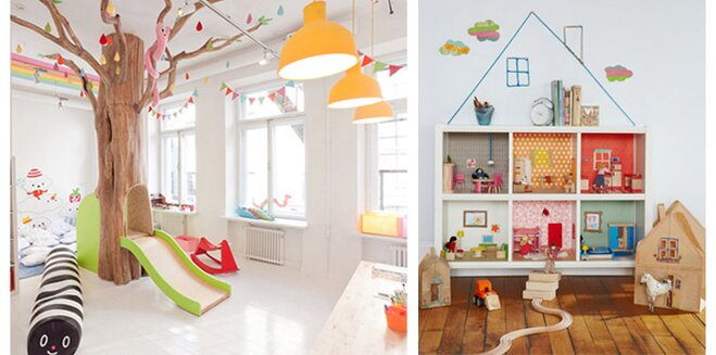 Creative Kids Playroom Decorating Ideas