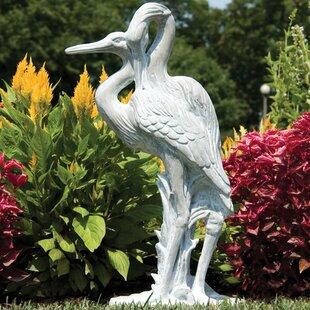 OrlandiStatuary Animals Cranes Statue