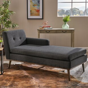 Turn on the Brights Altheimer Mid Century Chaise Lounge