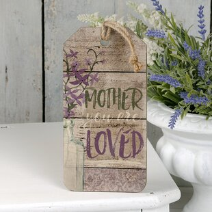 Mother You Are Loved Wall Décor