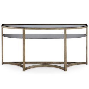 Darby Home Co Riverdale Contemporary Demilune Console Table