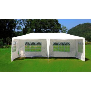 20 Ft. W x 10 Ft. D Steel Party Tent Canopy by MCombo