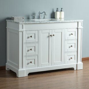 Compare prices Farrell 48 Single Bathroom Vanity Set By Breakwater Bay