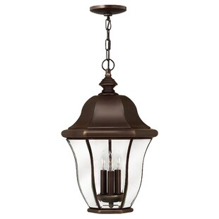 Monticello 3-Light Outdoor Hanging Lantern