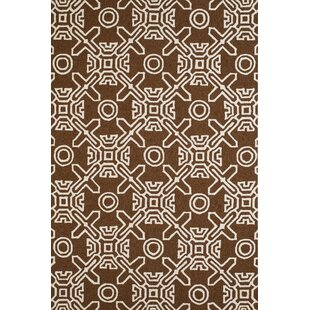 Maui Hand-Woven Chocolate Indoor/Outdoor Area Rug