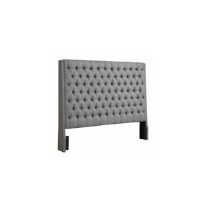 Comparison Brianne Upholstered Panel Headboard by Rosdorf Park
