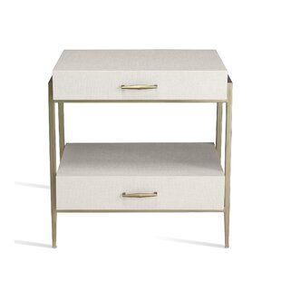 Allegra 2 Drawer Nightstand