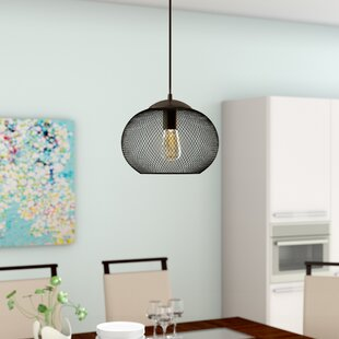 Mercury Row Abate 1-Light Globe Pendant