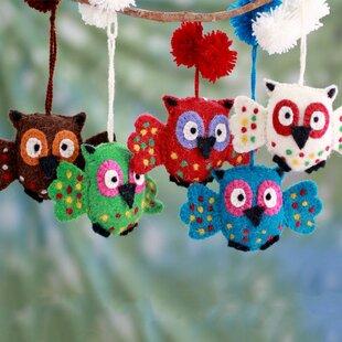 Owl Christmas Ornaments Wayfair