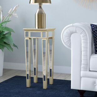 Top Reviews Borkholder Mirror End Table By Willa Arlo Interiors