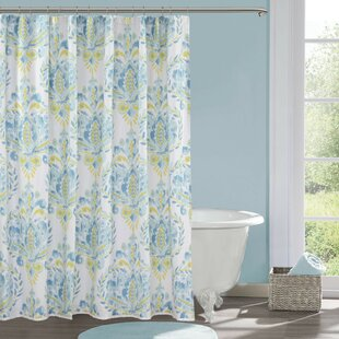 Breeze Cotton Single Shower Curtain