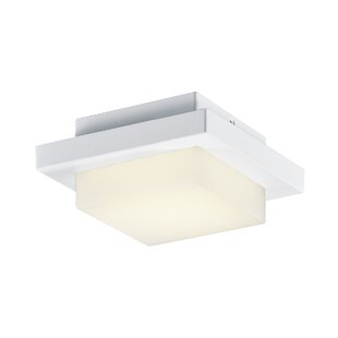 Orren Ellis Adalia LED Outdoor Flush Mount