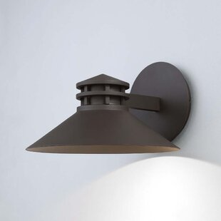 Winston Porter Laforce 1 Light LED Outdoor Sconce