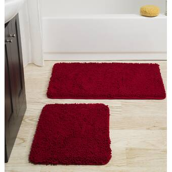Agm Home Store Edmunds Rose Luxurious Rectangle Bath Rug Wayfair