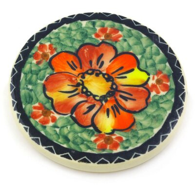 Polmedia Polish Pottery 3 5 Coaster Wayfair