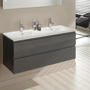 Belfry Bathroom 120 cm Waschbeckenunterschrank Stef Lak