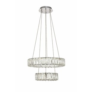 Anessa Metal LED Pendant by Everly Quinn