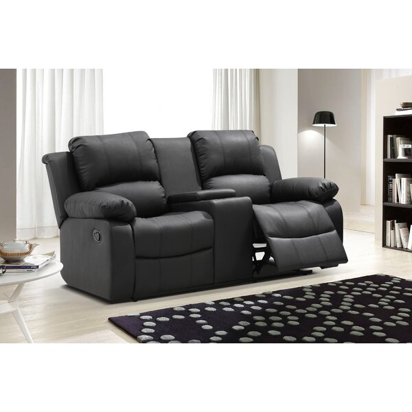 recliner reclining marvelous attachment console sofa dual with microfiber center of loveseat furniture recliners inspirational