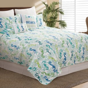 Chew Stoke 100% Cotton Reversible Quilt Set