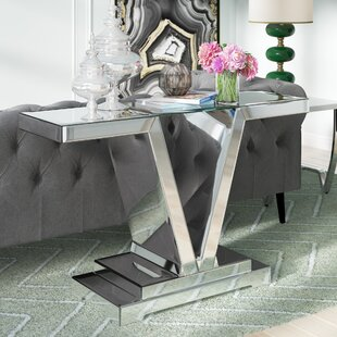 Savoy Rectangle Console Table by Willa Arlo Interiors Great Reviews
