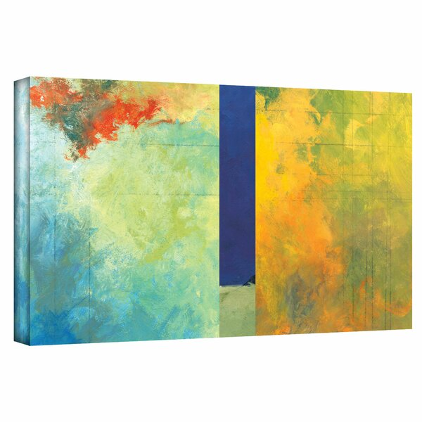 48 x 48 ArtWall 4 Piece Jan Weisss Big Sky Country Iv Gallery Wrapped Canvas Artwork