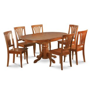 Square 5 Piece Solid Wood Dining Set