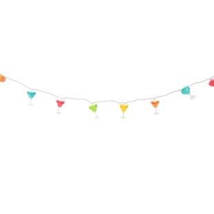 8.5 ft. 10-Light Novelty String Light by DEI