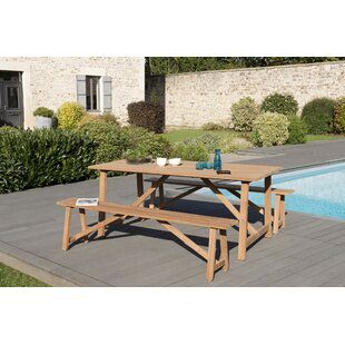Zenia 6 Seater Dining Set By Sol 72 Outdoor