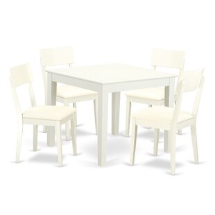 Alcott Hill Cobleskill 5 Piece Breakfast Nook Dining Set