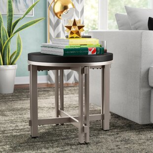 Reviews Capel End Table by Wrought Studio