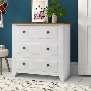 Antonia 3 Drawer Chest By Three Posts