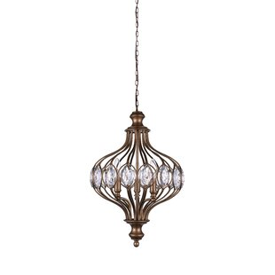CWI Lighting 6-Light Globe Chandelier