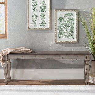 Lark Manor Nathalie Wood Bench