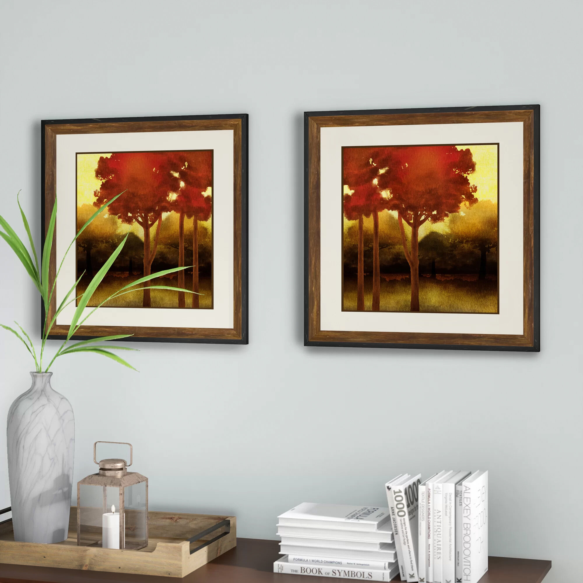 Forest Oil Painting Wall Art You Ll Love In 2021 Wayfair