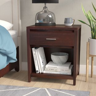 Latitude Run Thierry 1 Drawer Nightstand