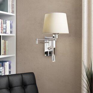 Reviews Farmborough Swing Arm Lamp By Wade Logan