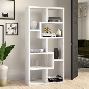Chrysanthos Geometric Bookcase By Mercury Row