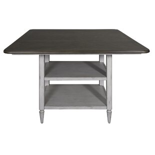 Lark Manor Maelly Counter Height Extendable Dining Table