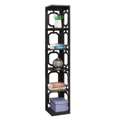 Ardenvor Corner Bookcase Color: Espresso by Beachcrest Home