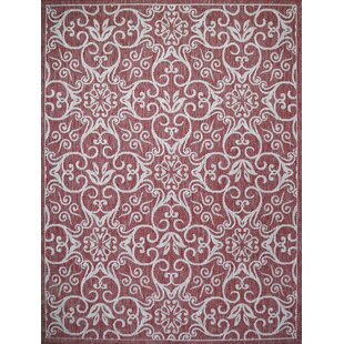 Satterwhite Brick Indoor/Outdoor Area Rug