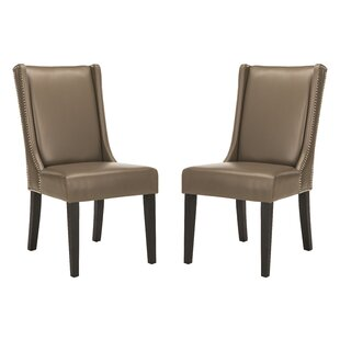 Starling Upholstered Dining Chair (Set of 2) by Alcott Hill