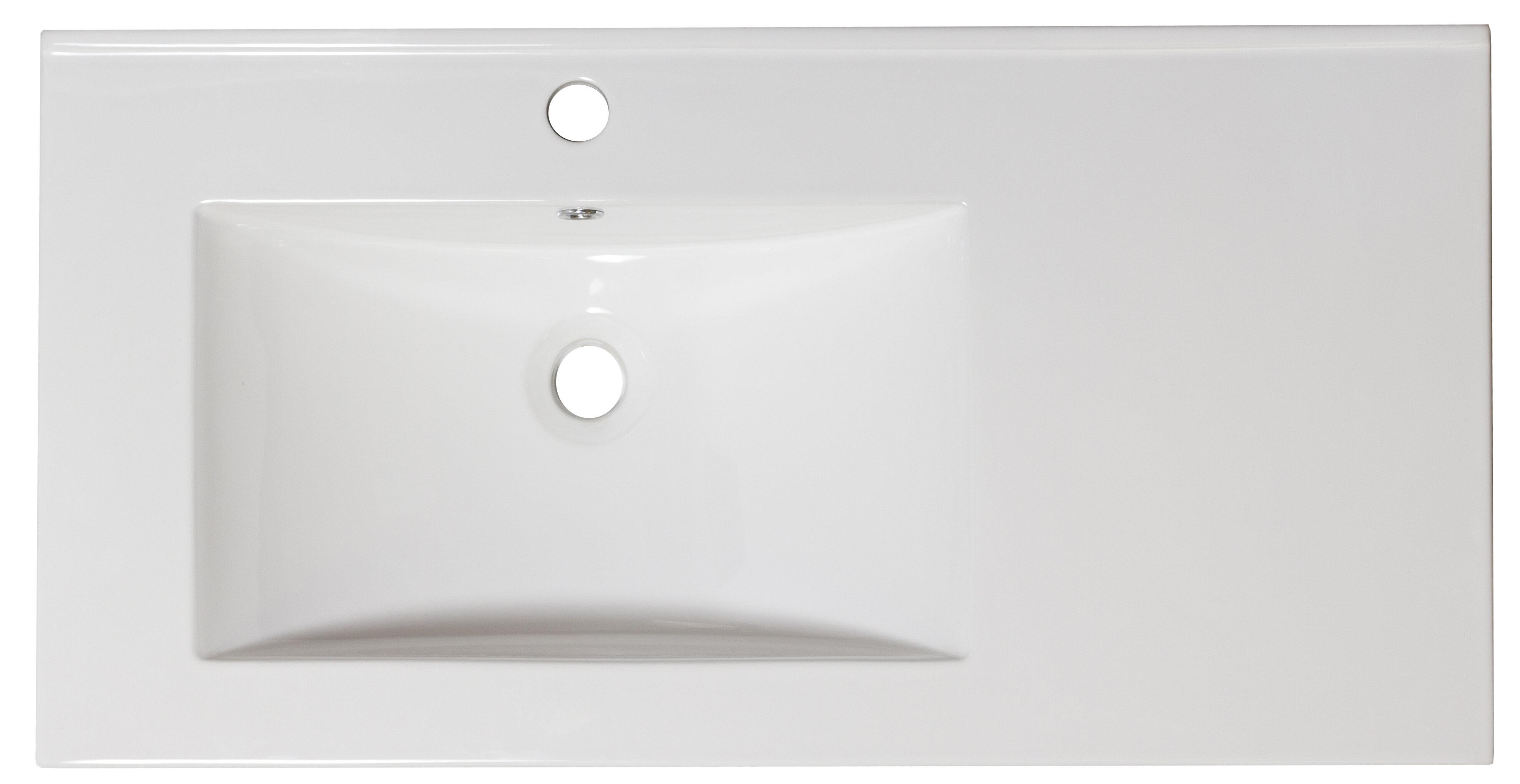 Cement Grey With Acrylic Vanity Top