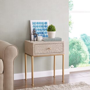 Isadora End Table with Storage by Mercer41