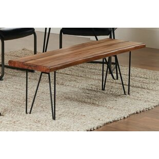 Pittenger Metal Dining Bench by Union Rustic