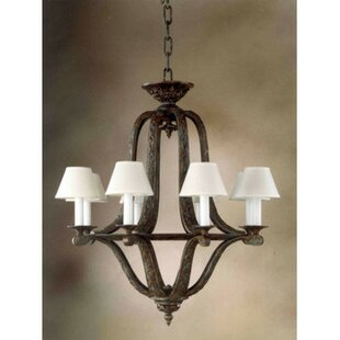 Zanin Lighting Inc. Almeria 8-Light Shaded Chandelier