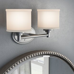 Comparison Wedgewood 2-Light Vanity Light By Darby Home Co