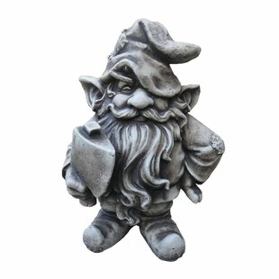 Gnome Norgrim Statue By Happy Larry