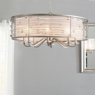 Hermione 8-Light Chandelier by Willa Arlo Interiors