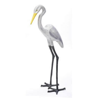 ACHLA Great Egret II Statue