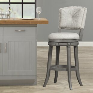 Kiefer 30 Swivel Bar Stool Alcott Hill